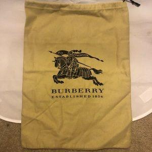 Burberry dustbag